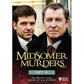 Midsomer Murder Set 14 Dvd