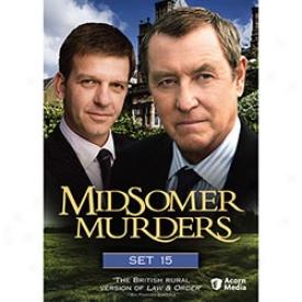 Midsomer Murders Prescribe 15 Dvd