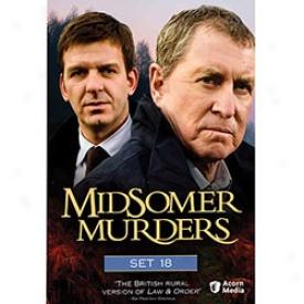 Midsomer Murrers Set 18 Dvd