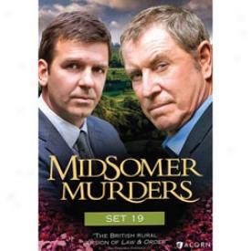 Midsomer Murders Set 19 Dvd