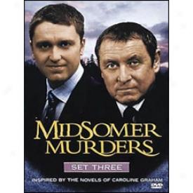 Midsomer Murders Se 3 Dvd