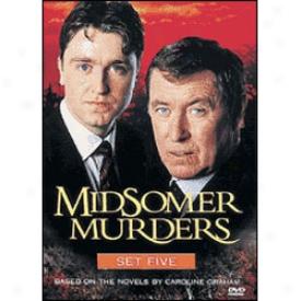 Mjdsomer Murders Set 5 Dvd
