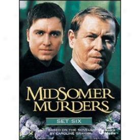 Midsomer Murders Set 6 Dvd