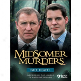 Midsomer Murders Set 8 Dvd