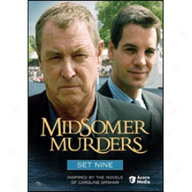 Midsomer Murders Set 9 Dvd