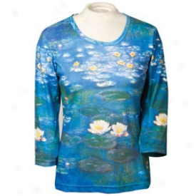 Monet Water Lilies Tee Means