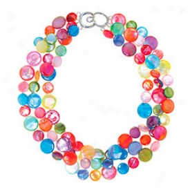 Mother-of-pearl Confetti Necklace