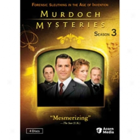 Murdoch Mysteries Season 3 Dvd