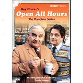 Open All Hours The Complete Series Dvd