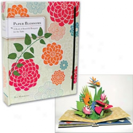 Paper Blossoms Pop Up Book Book