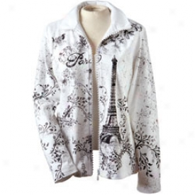 Paris Jacket Small-white
