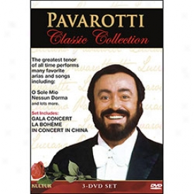 Pavarotti Collecti0n Dvd