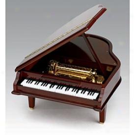 Piano Cocertina Music Box