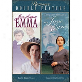 Romance Double Feature Emma & Jane Eyre Dvd