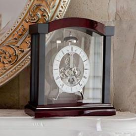 Rodewood Skeleton Clock