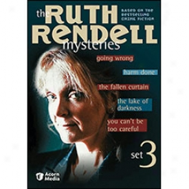 Ruth Rendell Mysteries Set 3 Dvd
