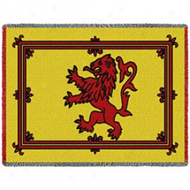 Scotland And Wales Flag Throws Scotland
