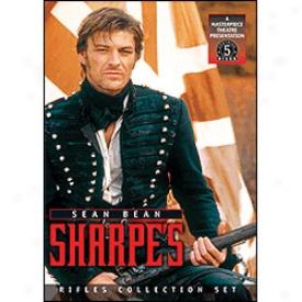 Sharpe's Set Rifles Dvd