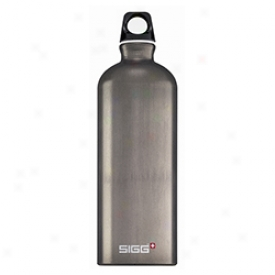 Sigg First-rate Water Bttle 1 Litre 1l-smoked Pearl