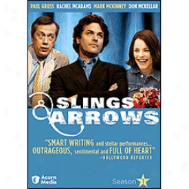 Slings & Arrows While 1 Dvd
