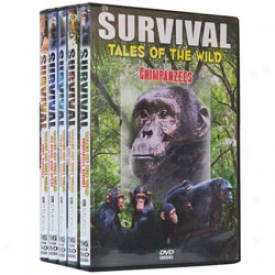 Survival Tales Of Wild Set Dvd