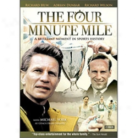 The Four Minute Mile Dvd