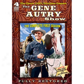 The Gene Autry Show The Complete First Season Dvd