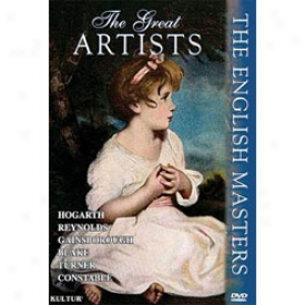 The Great Artists:the English Masters Dvd