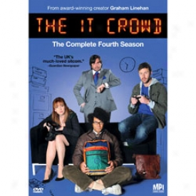 The It Crowd The Complete Fourth Season Dvd