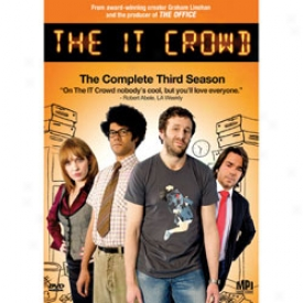 The It Crowd The Complete Third Season Dvd