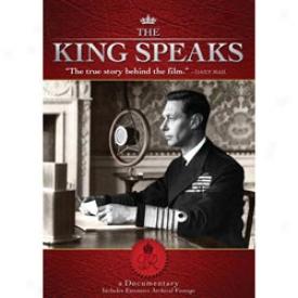 Thhe King Speaks,  Dvd