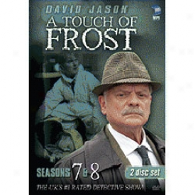 Touch Of Frost Season 7 & 8 Dvd