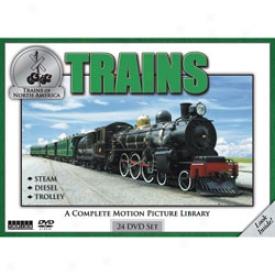 Trains Of North America Dvd