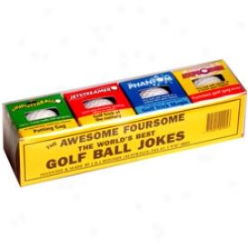 Trick G0lf Balls 4 Pack