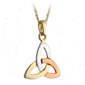 Trinity Knot Pendant Necklace