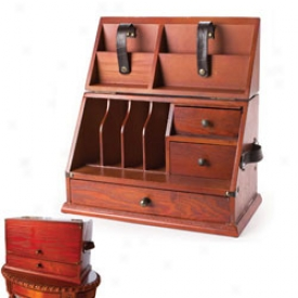 Turn Off Century Desk Organizer