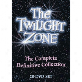 Twilight Zone The Complete Definitive Collection Dvd