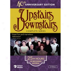 Upstairs Downstairs Complete Series 40th Anniversary Edition Dvd