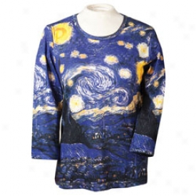 Van Gogh Starry Night Tee Large