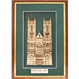 Westminster Abbey Woodcut Sculpture