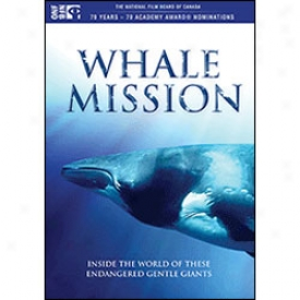 Whale Mission Dvd