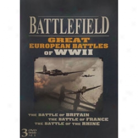 World War Ii Battlefield Set Dvd