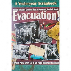 Wwii Home Front Scrapbook Sets Evacuation! Dvd