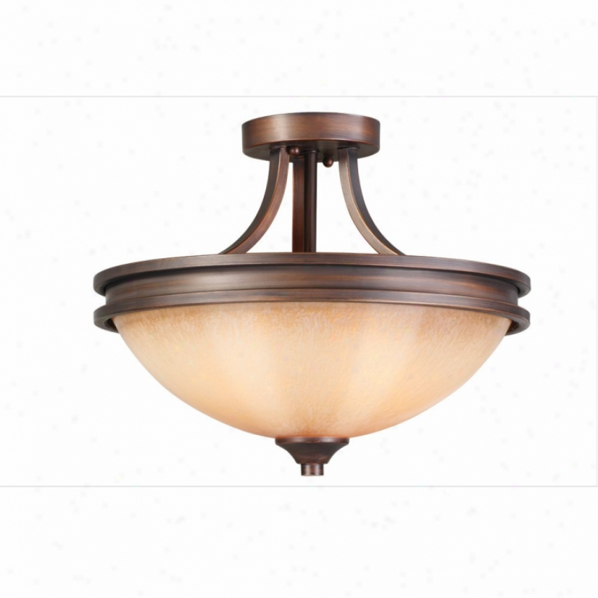 1051-sf-sbz - Golden Lighting - 1051-ef-sbz > Semi Flush Mount