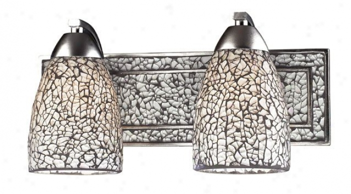 1301-2s1v-whc - Elk Lighting - 1301-2slv-whc > Wall Lamps