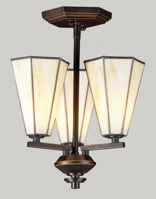 2846_3 - Elk Lighting - 2846_3 > Semi-flush Mount