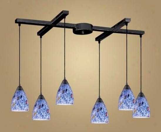 406-6bl - Elk Lighting - 406-6bl > Chandeliers