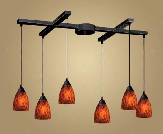 406-6es - Elk Lighting - 406-6es > Chandeliers
