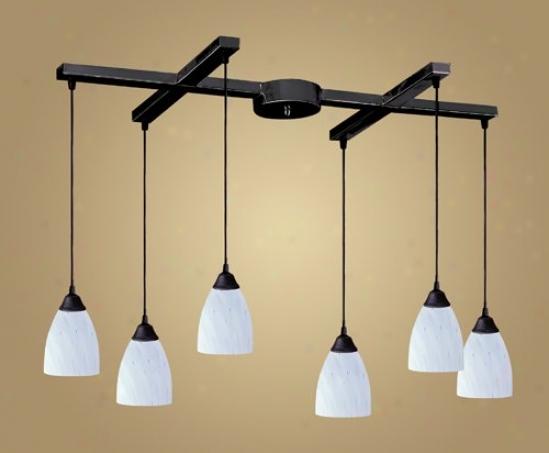 406-6wh - Elk Lighting - 406-6wh > Chandeliers