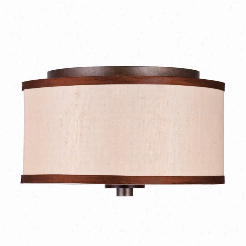 4090-fm-mw - Golden Lighting - 4090-fm-mw > Flush Mount